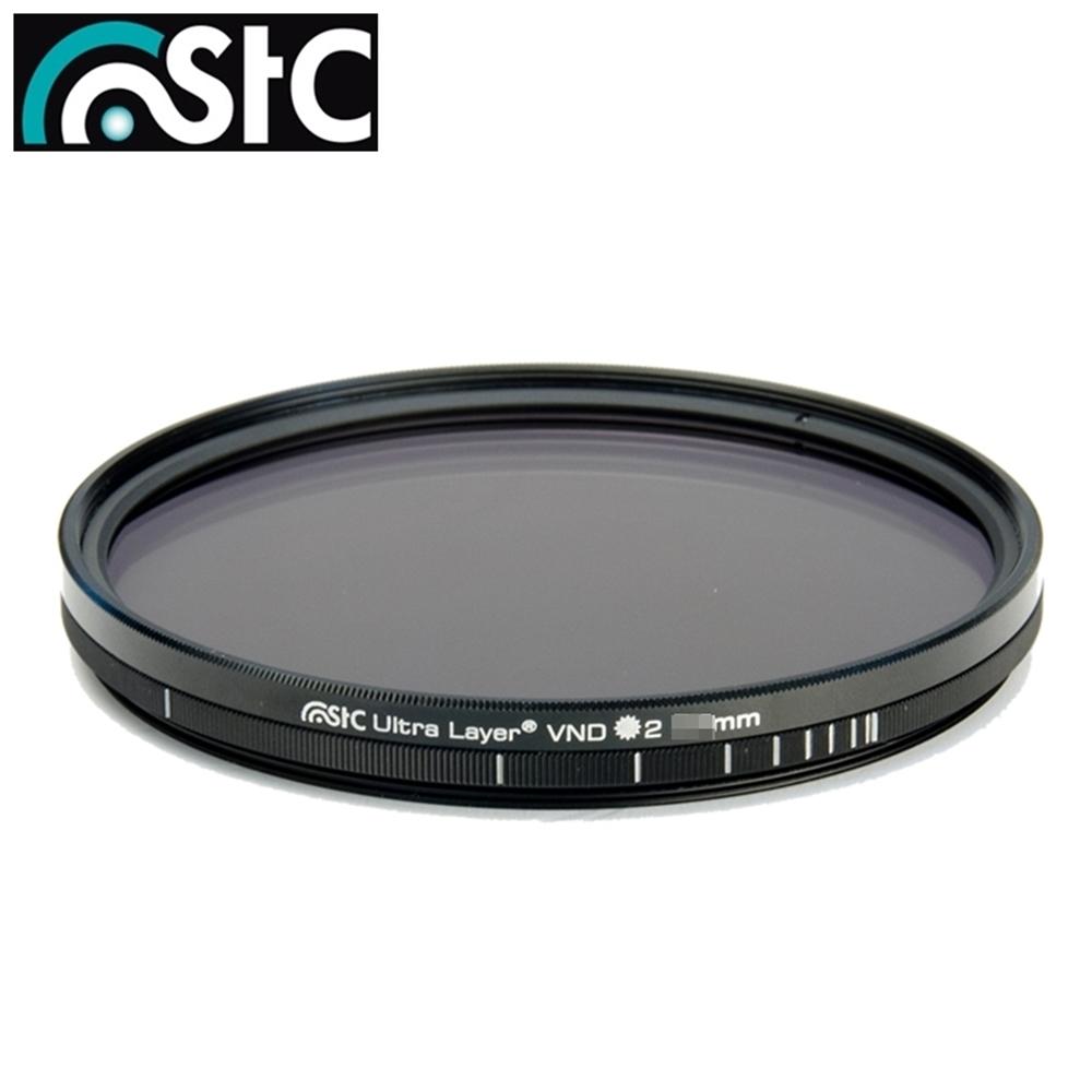 台灣製STC低色偏多層鍍膜Variable ND Filter ND16-ND4096減光鏡82mm濾鏡(薄框,抗刮抗污防刮防污防靜電抗靜電)全黑色VND濾鏡ND16-4096