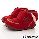 日本月星頂級童鞋 2E高機能HI系列短靴款 ON042紅(小童段)