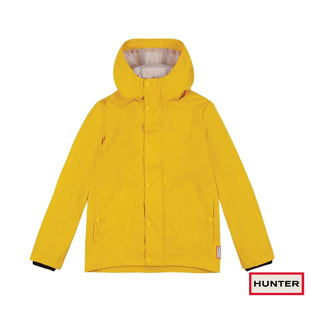 HUNTER - 大童 - 輕量橡膠外套 - 黃