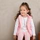 奇哥 比得兔粉紅聖誕雙面舖棉背心外套(6-8歲) product thumbnail 1