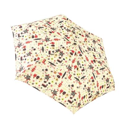 RAINSTORY變形昆蟲(米)抗UV手開輕細口紅傘