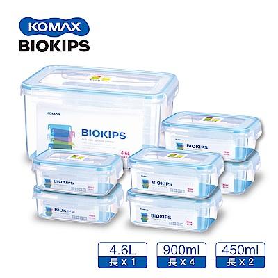 KOMAX 幸福收納密封PP保鮮盒7件組