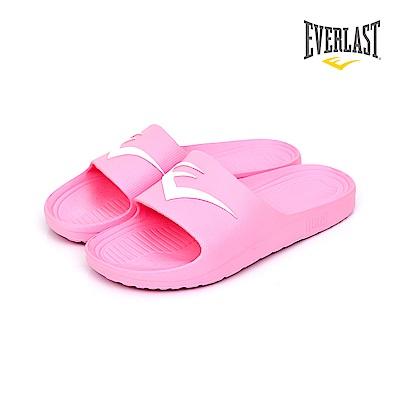EVERLAST 品牌經典LOGO拖鞋-女-粉