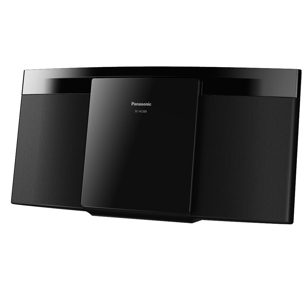 Panasonic國際牌輕薄設計輕巧組合音響 SC-HC200GT-K