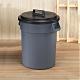 創意達人 KEYWAY圓周大容量附蓋水桶/垃圾桶95L -1入組 product thumbnail 1
