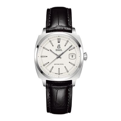 ERNEST BOREL 瑞士依波路錶 復古系列 901不鏽鋼-白色34mm