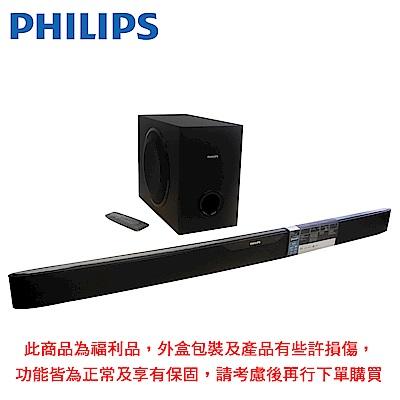 【福利品】PHILIPS飛利浦 NFC/藍牙微型劇院 HTL6140B/98