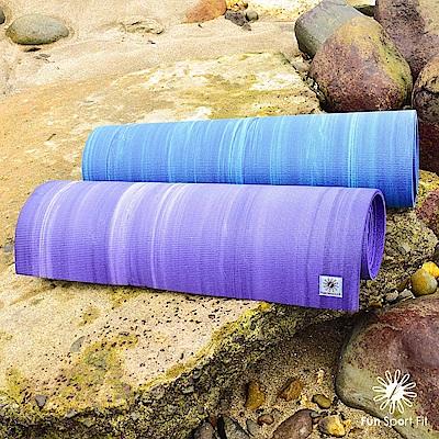 Fun Sport fit 海之旅-微醺浪潮瑜珈墊-8mm-送瑜珈背袋