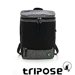 tripose微旅系列 岩紋x尼龍混紡後背包 黑
