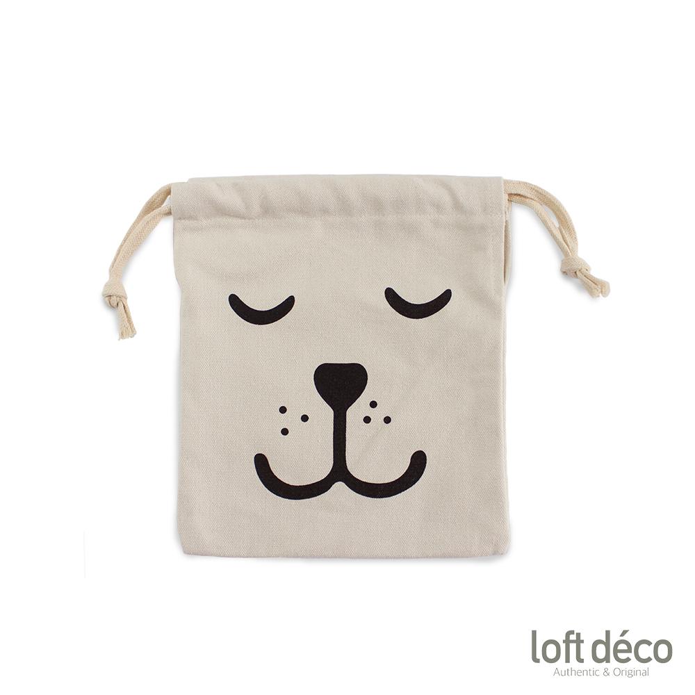 Loft Deco | Smile | 純棉束口袋
