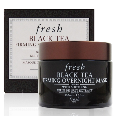 fresh BLACK TEA FIRMING OVERNIGHT MASK 紅茶晚間緊緻面膜100ml (國際限定版)