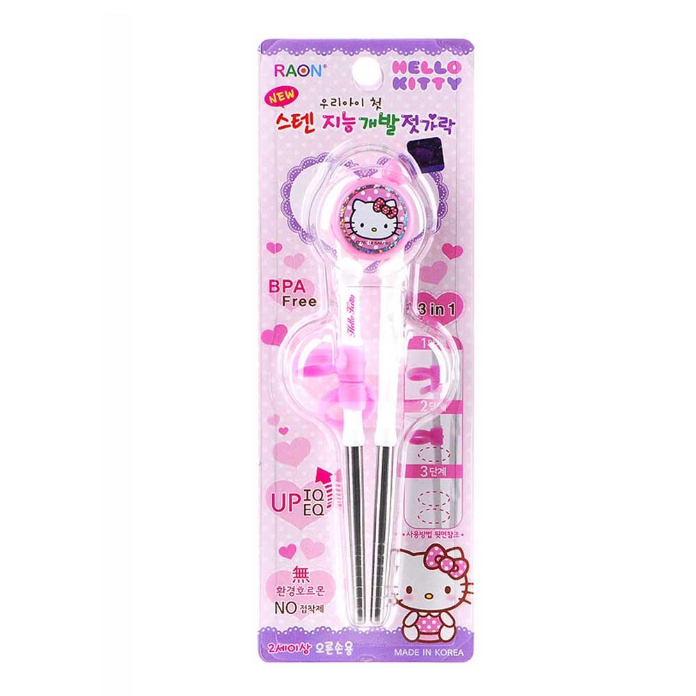 韓國  Hello Kitty 不銹鋼學習筷/筷子(適用於2歲以上)