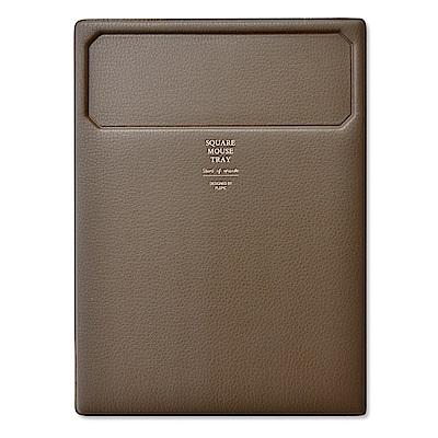 PLEPIC 職人典藏皮革滑鼠墊-法式棕