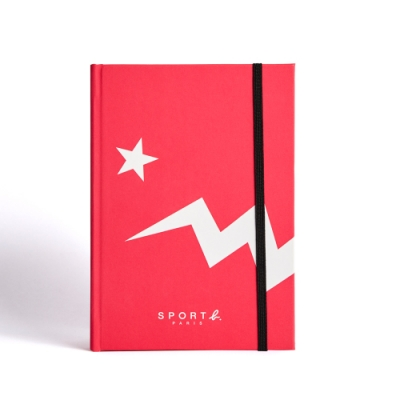 Sport b.粉色恐龍空白筆記本