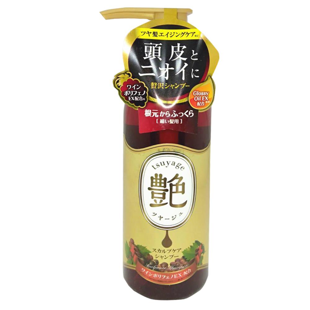 日本Graphico 頭皮修護艷髮洗髮精-葡萄香氛味(粗髮硬質專用)400ml @ Y!購物