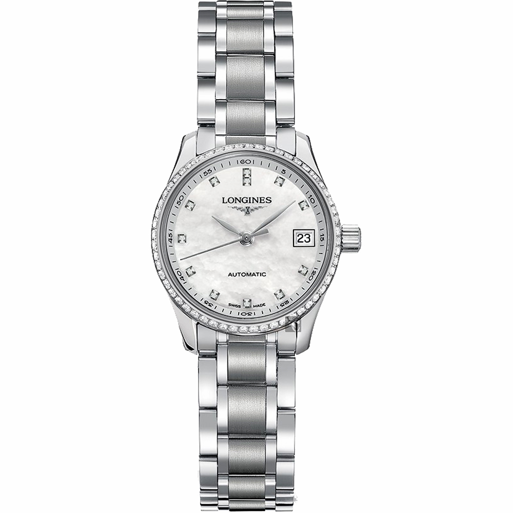 Longines浪琴 Master Collection 真鑽機械女錶-25.5mm L21280876 product image 1