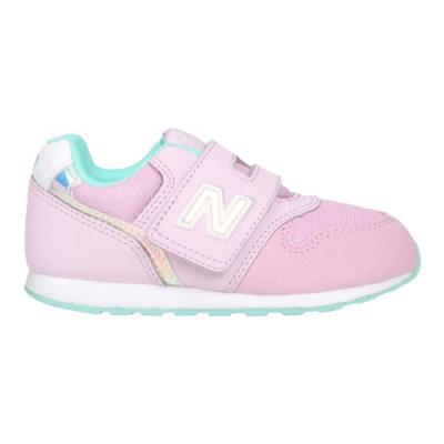 NEWBALANCE 女小童運動休閒鞋-WIDE-996系列 寬楦 NB IZ996HPN 粉紅湖水藍