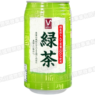 Valor罐裝綠茶(340ml)
