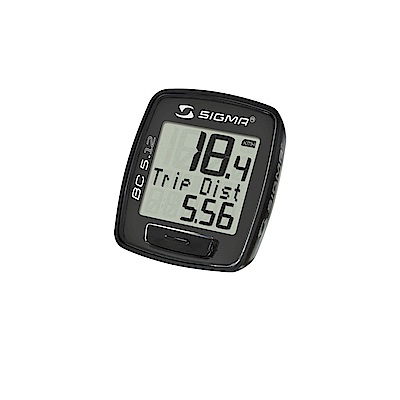 【SIGMA】BC 5.12 五項功能有線碼錶
