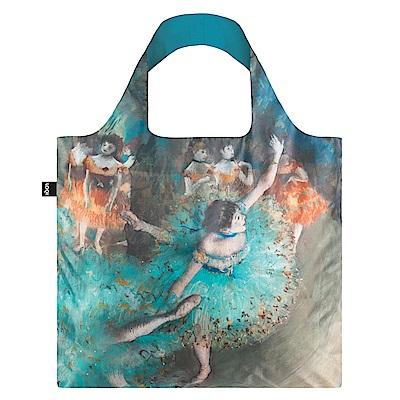 LOQI購物袋-博物館系列綠色舞者EDSD
