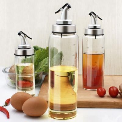 PASTON 按壓式防漏耐熱玻璃料理油瓶
