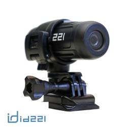 【台灣製造】id221 ACTION C1 SONY感光 機車安全帽行車紀錄器-快