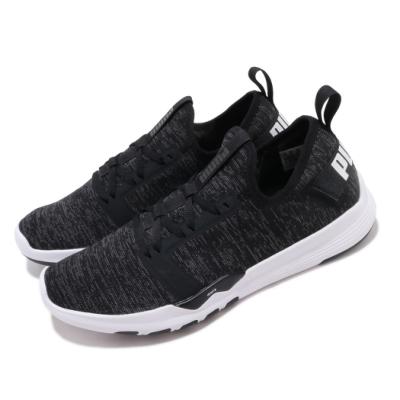 Puma 慢跑鞋 IGNITE Contender 男鞋 輕量 透氣 舒適 避震 路跑 健身 黑 白 19173101