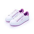 FILA  女潮流復古綁帶鞋-紫 5-C116T-900