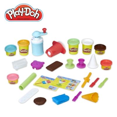 Play-Doh 培樂多-廚房系列美味冰品組 無毒黏土 創意DIY