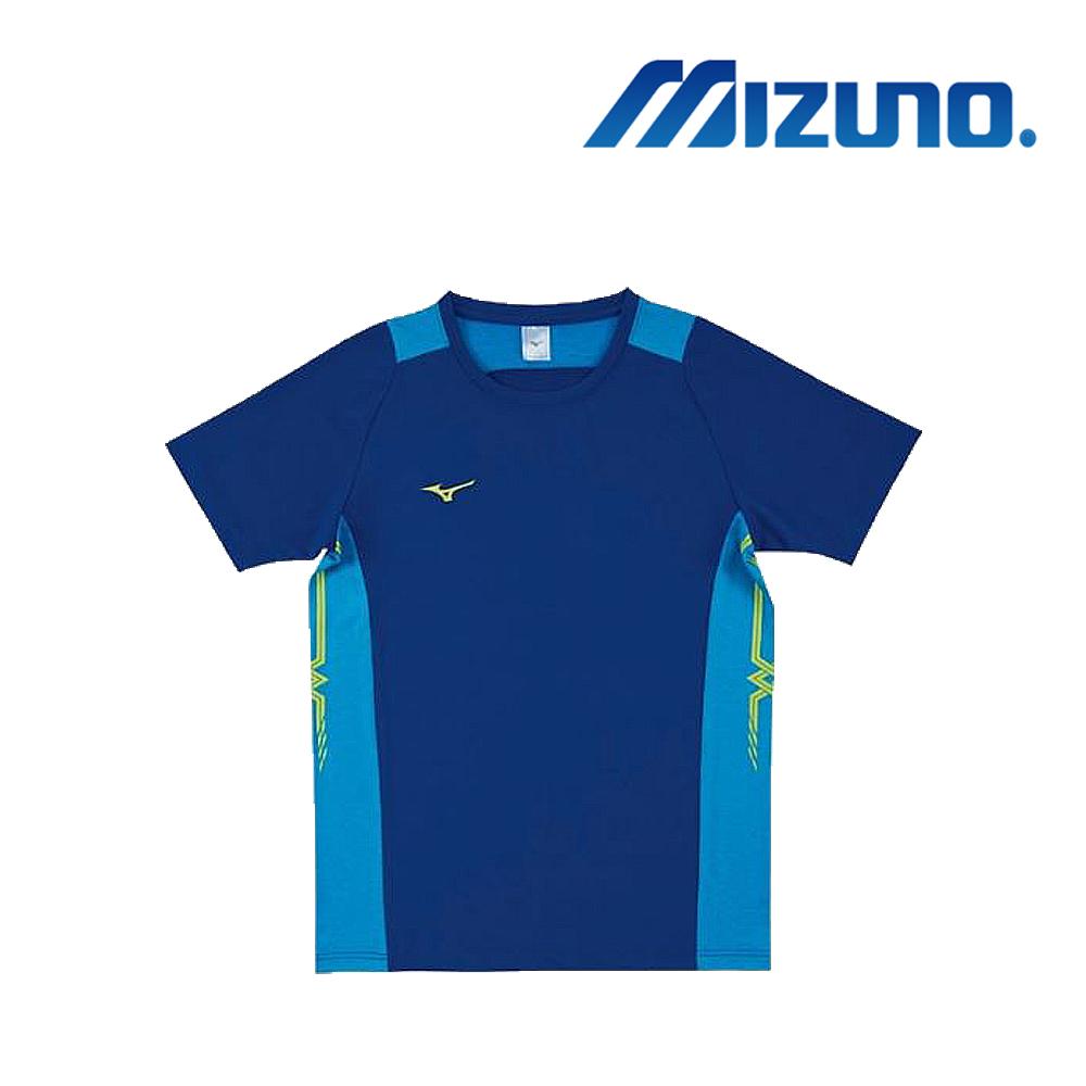 Mizuno 美津濃 男女 排球上衣 法國藍x粉天藍 V2TA8G1922