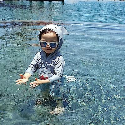 baby童衣 男女童 可愛鯊魚造型連身泳裝 y7051