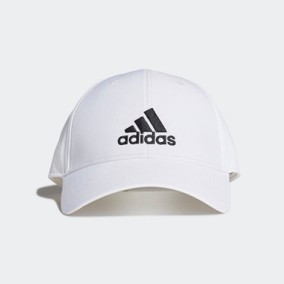 ADIDAS 休閒 運動 老帽 棒球帽 白 FK0899 BASEBALL CAP