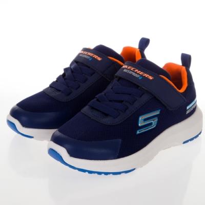 SKECHERS 男童系列DYNAMIC TREAD 防水運動鞋 - 403661LNVY