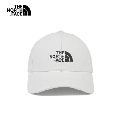 The North Face北面男女款白色透氣運動帽|CF8C91T