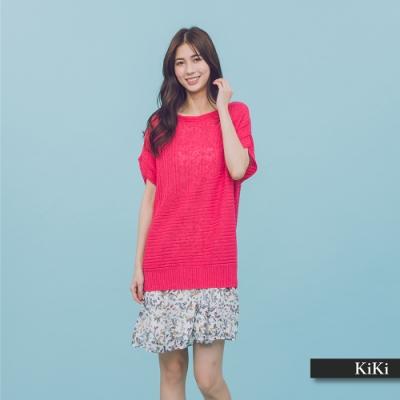 【KiKi】MIT製 經典百搭-針織衫(三色)