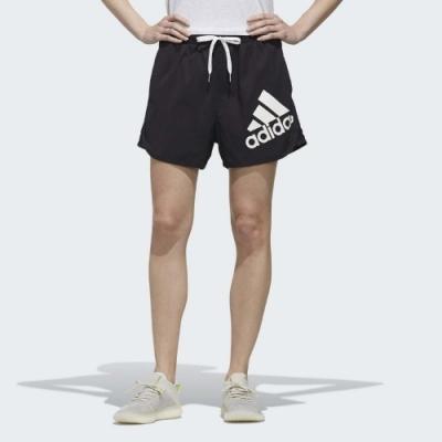 ADIDAS SHORTS BOS女短褲-黑-DY8661