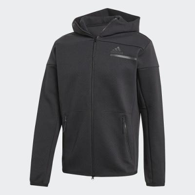 adidas 連帽外套 休閒 運動 訓練 男款 黑 GM6531 ZNE FZ