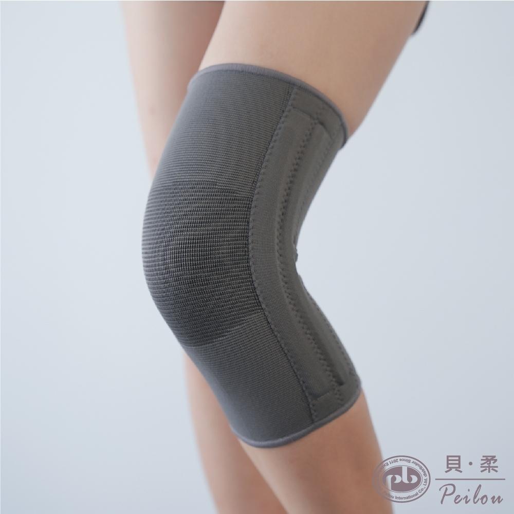 貝柔奈米竹炭雙彈簧護膝