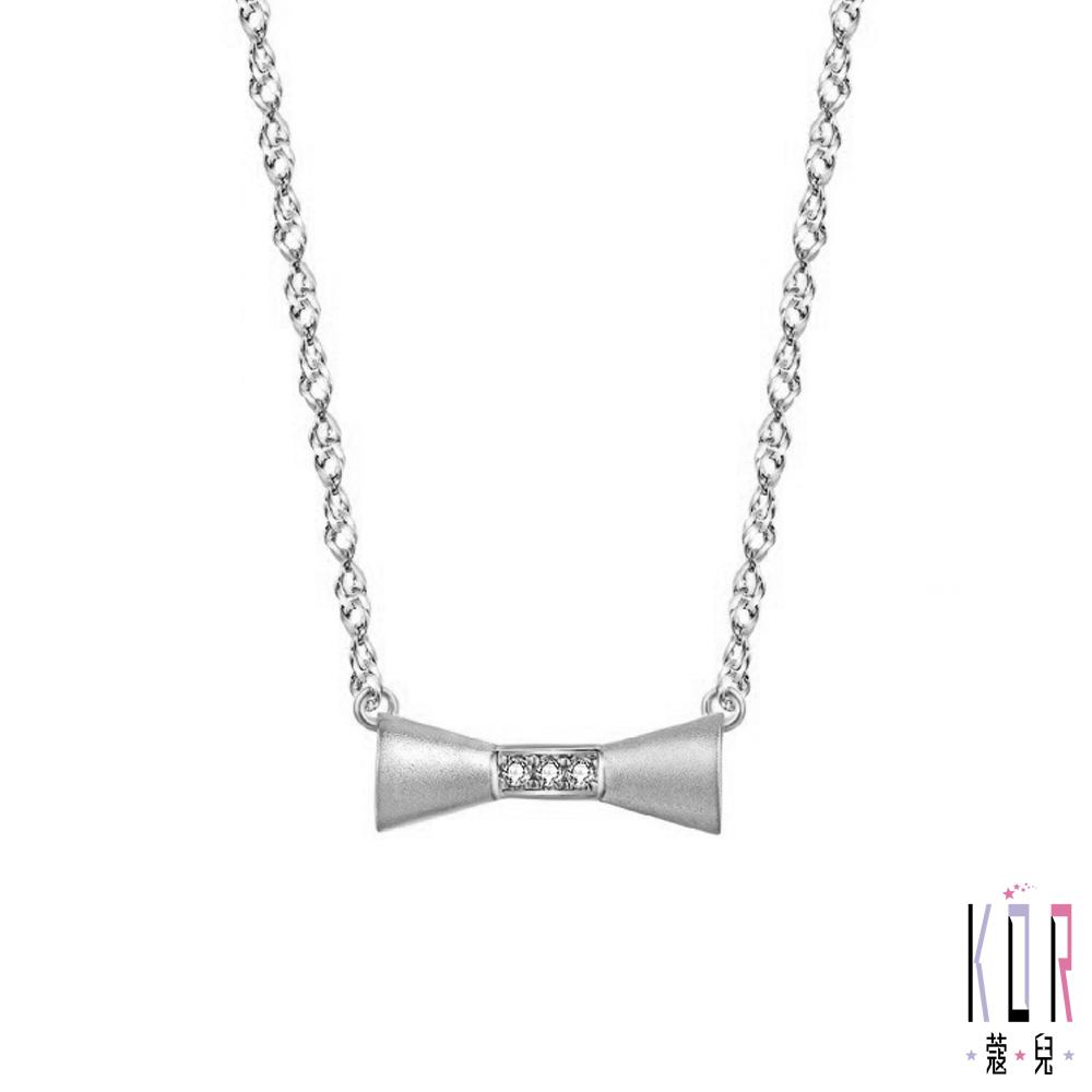 K'OR蔻兒 少女時代鑽石/鉑金項鍊