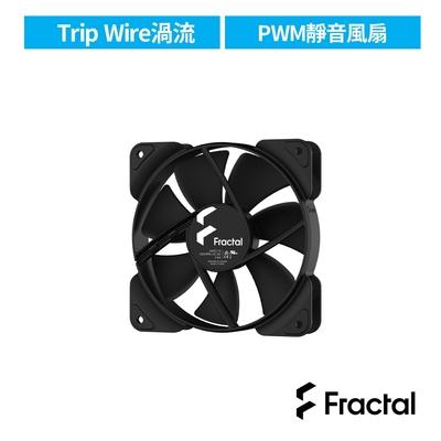 【Fractal Design】Aspect 12cm PWM 散熱風扇-黑