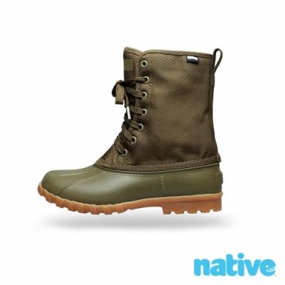 native JIMMY CITYLITE 獵鴨男/女靴-橄欖綠