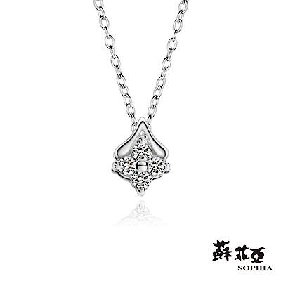 蘇菲亞SOPHIA - 輕珠寶系列初心0.05克拉鑽石套鏈