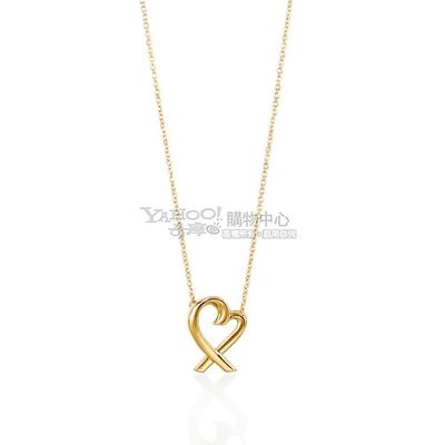 Tiffany&Co. Loving Heart 18K黃金項鍊
