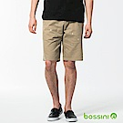 bossini男裝-休閒印花短褲03卡其