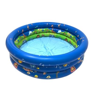 WEKO 120CM海陸動物充氣游泳池(WE-P120)