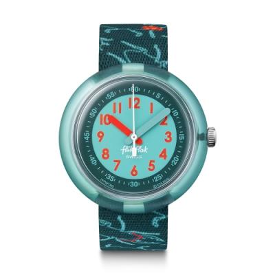 FLIKFLAK 兒童錶 FUNKY BUGS 蟲林探險-31.85mm