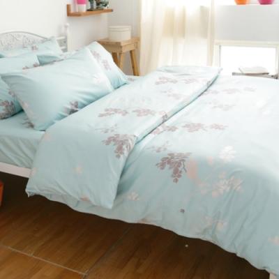 eyah 全程台灣製100%頂級205織紗精梳棉單人床包雙人被套三件組-多款任選