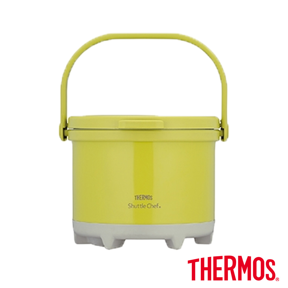 THERMOS 膳魔師 彩漾燜燒鍋-橄欖綠