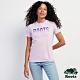 Roots女裝-城市悠遊系列  漸層短袖T恤-淺紫色 product thumbnail 1