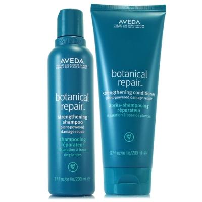 AVEDA 花植結構重鍵洗髮精200ml+花植結構重鍵潤髮乳200ml(正統公司貨)